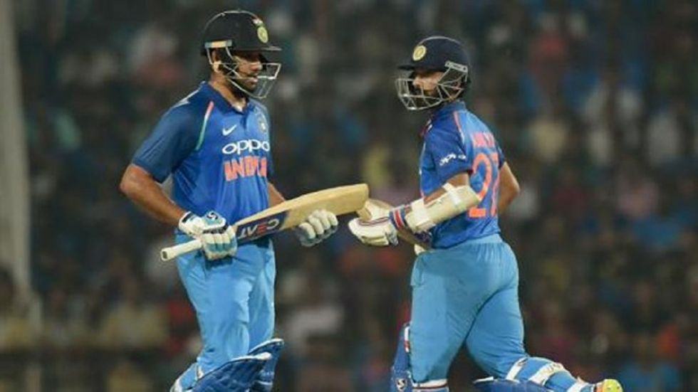 Ajinkya Rahane has backed Rohit Sharma to come good in the Test matches against South Africa. (Image credit: Twitter)