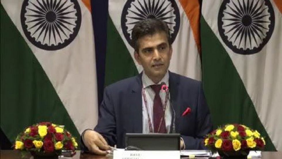 We regret the uninformed and unfounded positions taken at this event, Raveesh Kumar said. (IANS File Photo)