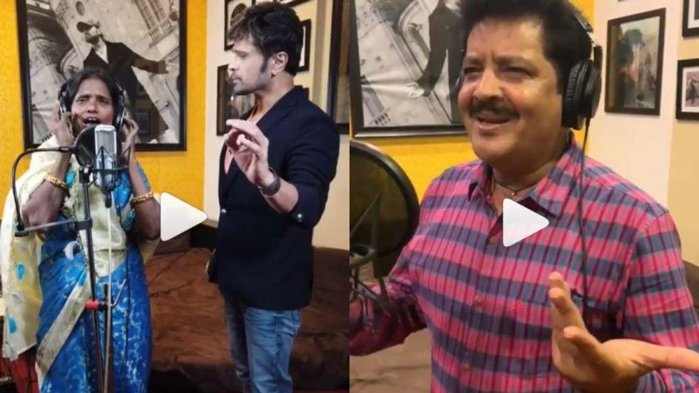Ranu Mondal Records Song with Udit Narayan On Lata Mageshkar's Birthday