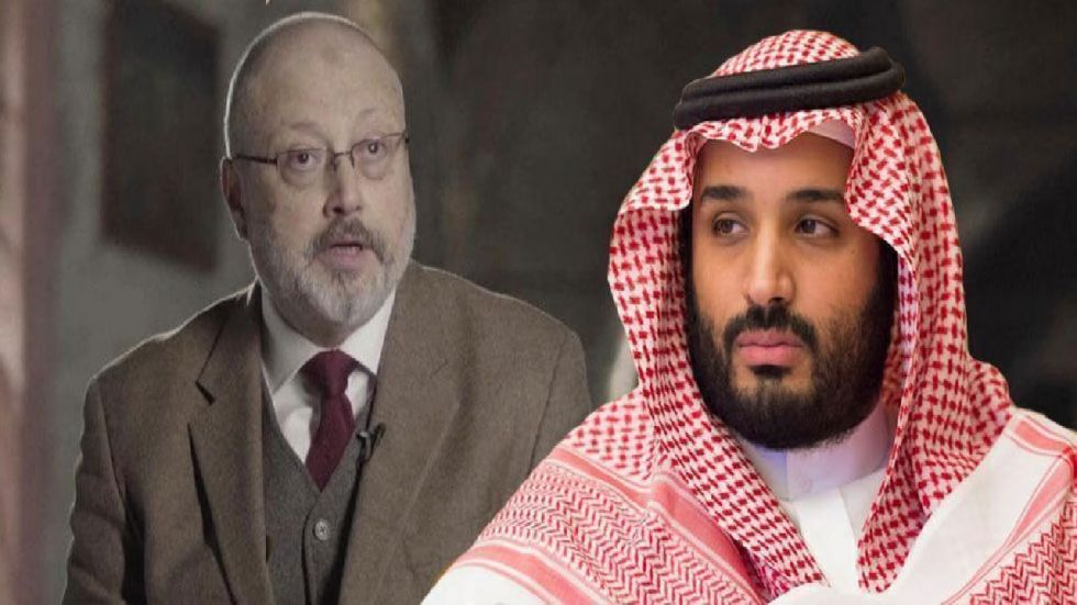 Saudi Crown Prince Mohammed bin Salman on Sunday denied ordering the murder of journalist Jamal Khashoggi