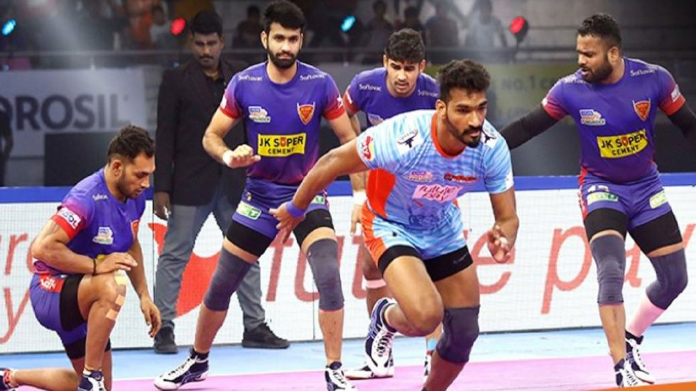 Pro Kabaddi League: Warriors Close Points Gap With Delhi, Mumbai Beat Thalaivas (Image credit: Twitter/ProKabaddi)
