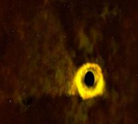 Is There A Black Hole That Accounts For Orbits Observed In Distant Solar System?