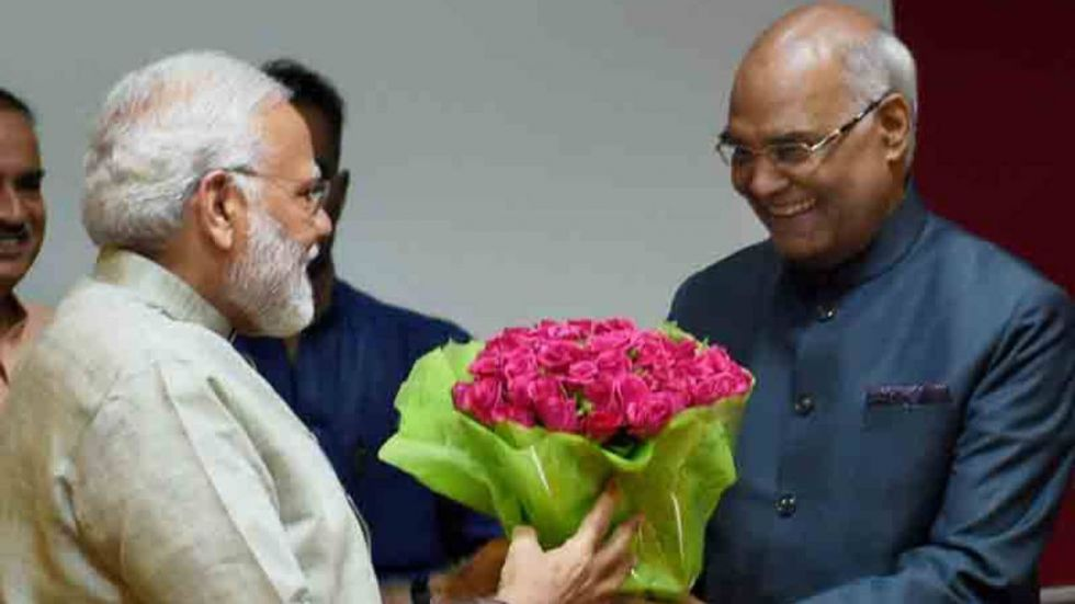 PM Modi extended his best wishes to President Kovind (Image: @PMOIndia File)