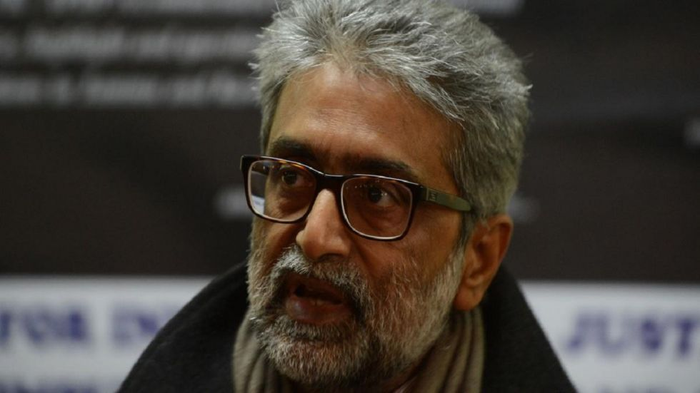 Gautam Navlakha and the other accused were booked under UAPA