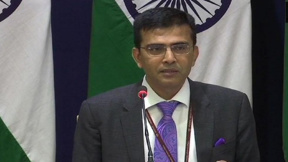 Raveesh Kumar asked Turkey to get a proper understanding of the situation on the ground in Kashmir.