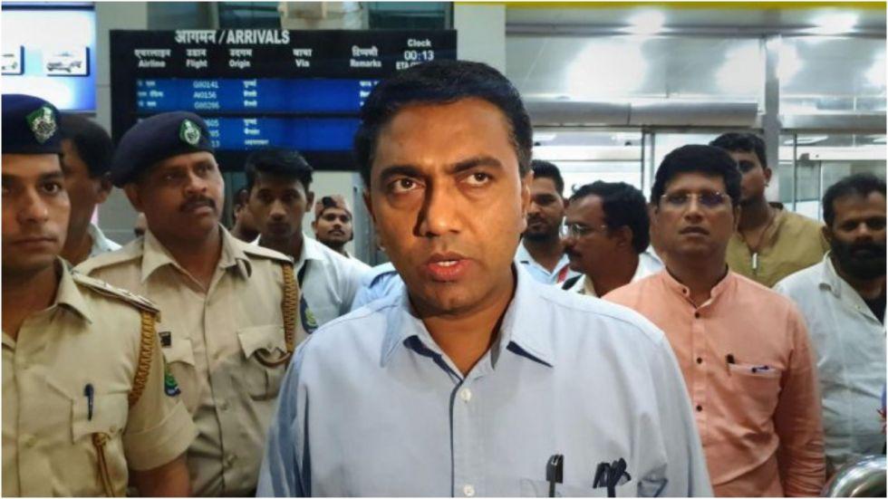 Goa CM Pramod Sawant Comes To Rescue Of Injured Tourist