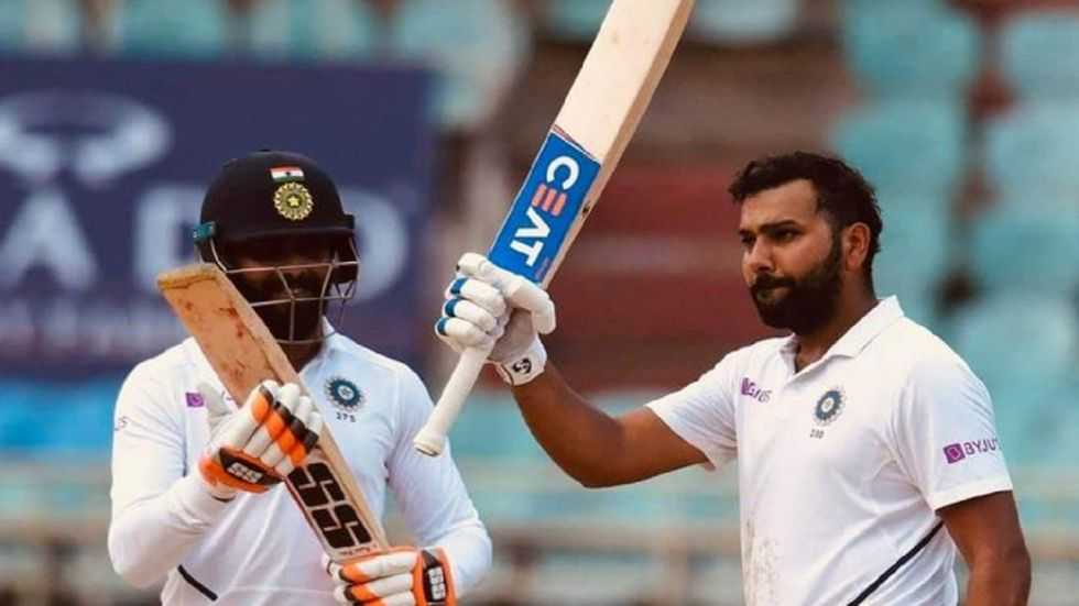 Rohit Sharma's centuries in both innings of the Vizag Test have helped India reach a position of strength against South Africa.