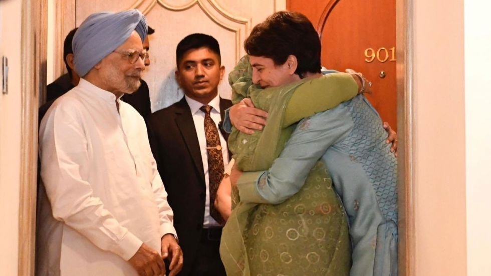 The Bangladeshi PM also met Congress president Sonia Gandhi and former prime minister Manmohan Singh.