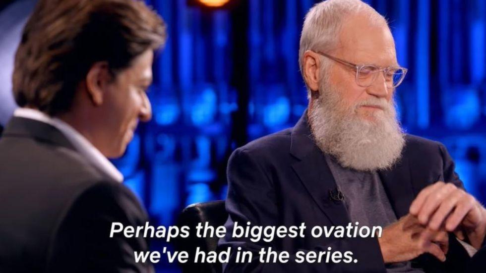 Shah Rukh Khan Gets Longest Ovation At David Letterman's Show; Trailer OUT