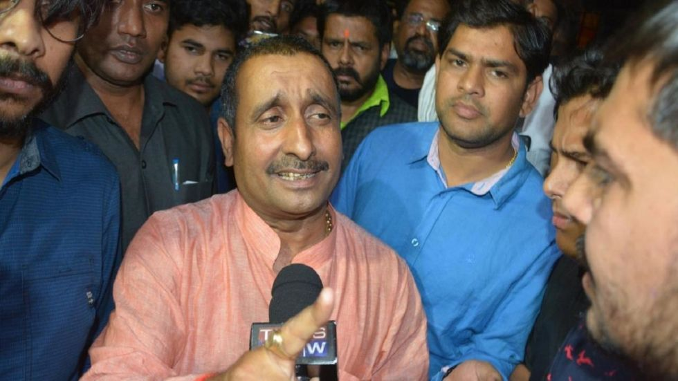 CBI Drops Murder Charges Against Kuldeep Sengar
