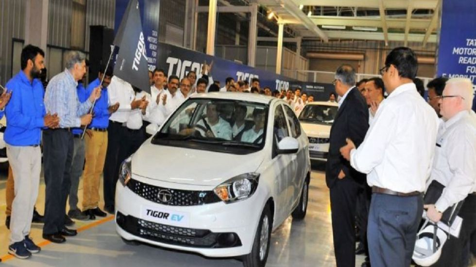 Tata Motors Launches Tigor EV With Extended Range