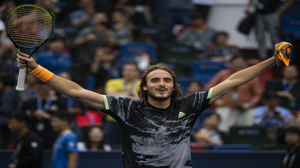 Stefanos Tsitsipas has now defeated the top-ranked Serbian twice in their three matches -- further proof that the 21-year-old is a serious contender at the top of men's tennis.