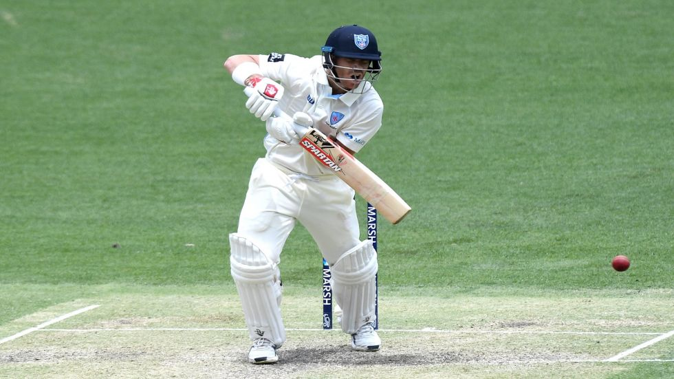 David Warner scored a century to put New South Wales in a good position in the Sheffield Shield clash against Queensland in Brisbane.