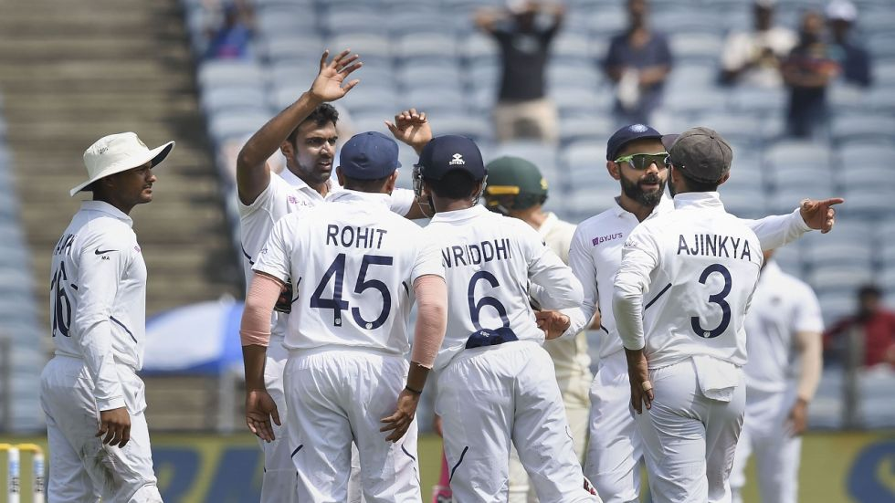 Ravichandran Ashwin took four wickets as India bowled South Africa out for 275 and took a 326-run lead.