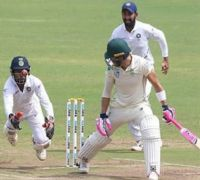 Wriddhiman Saha's Catching Leaves Pune Fans In Awe During India Vs South Africa Test