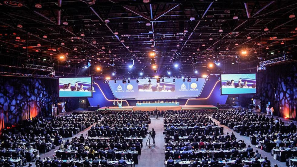 Interpol General Assembly Held In 2018