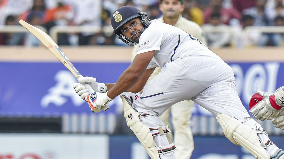 Rohit Sharma smashed his maiden double ton to decimate South Africa in Tests against Ranchi.