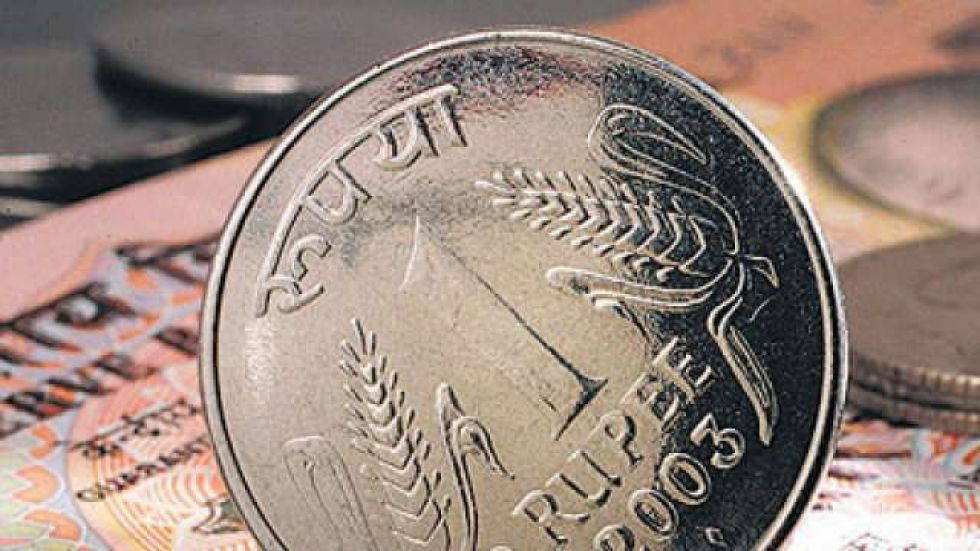 rupee opened at 71.01 then fell to 71.03 against the US dollar