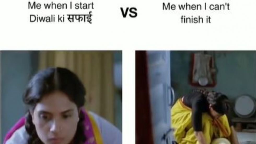 Richa Chadha's Diwali Ki Safai Meme Is Hilarious.