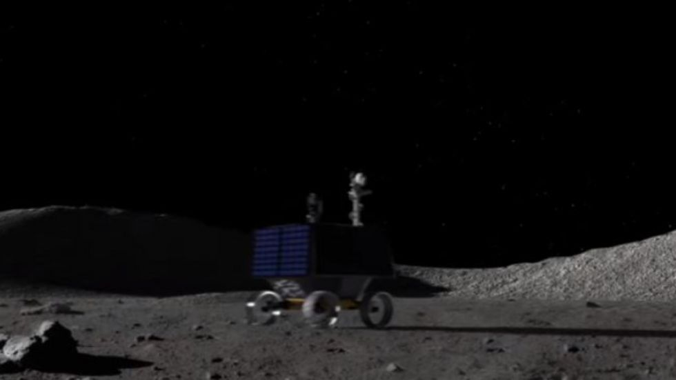 NASA's New VIPER Robot To Map Water Ice on Moon
