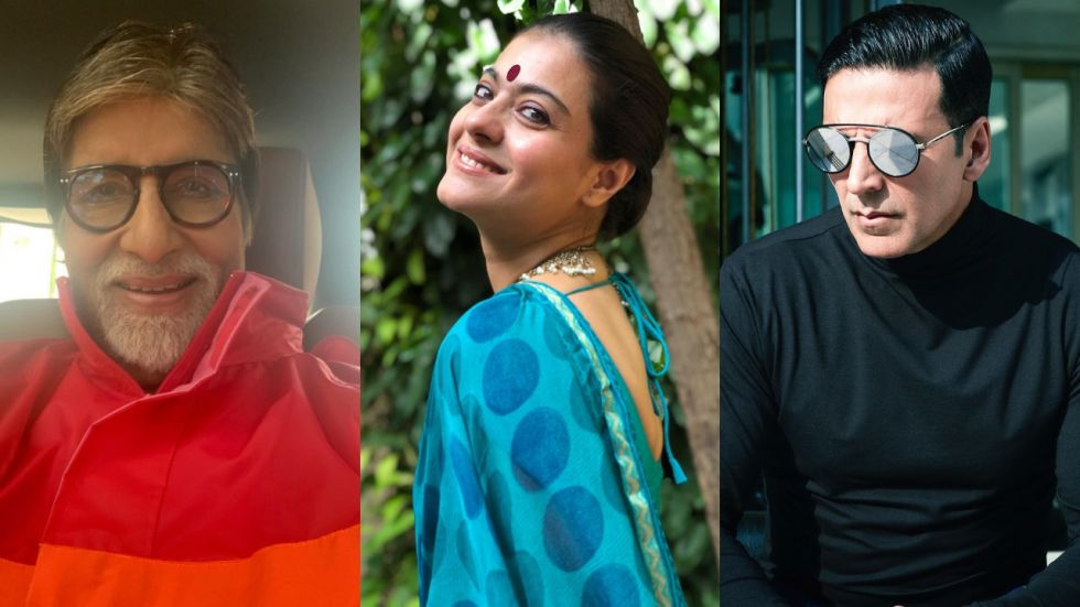Amitabh Bachchan, Akshay Kumar, Kajol And Others Extend Wishes To Their Fans