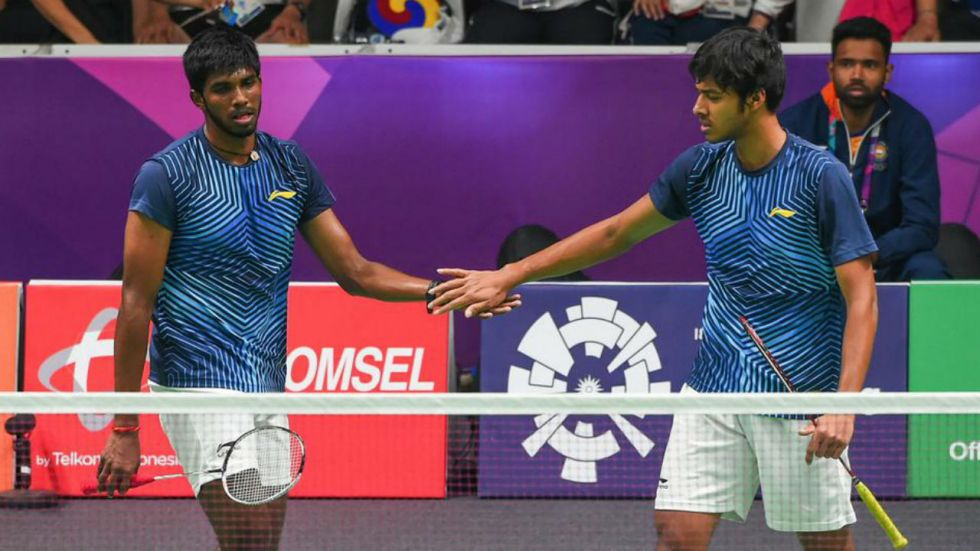 Satwiksairaj Rankireddy and Chirag Shetty will face top seeded Marcus Gideon and Kevin Sukamuljo in final