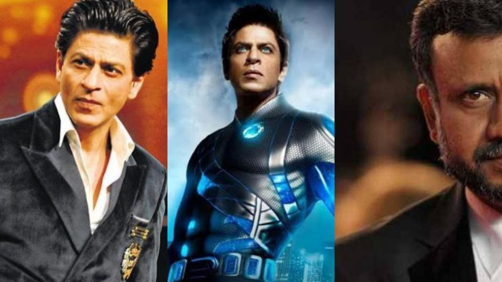 SRK And Anubhav Sinha 'Raises A Toast' To Ra.One Completing Eight Years
