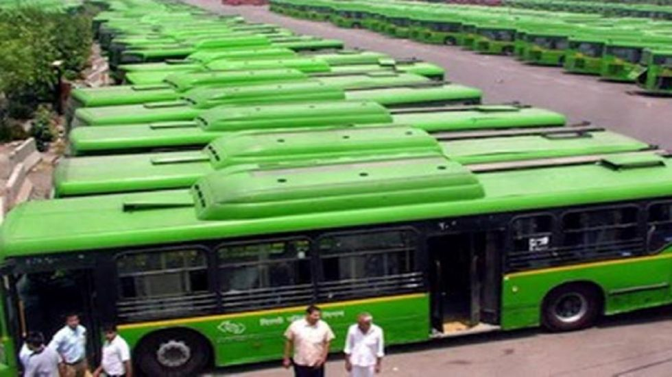 There are around 3,700 DTC buses and 1,800 buses under the cluster scheme of the Delhi Integrated Multi-Modal Transit System (DIMTS).