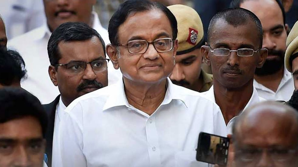 This is the third time that P Chidambaram has taken a dig at the government.