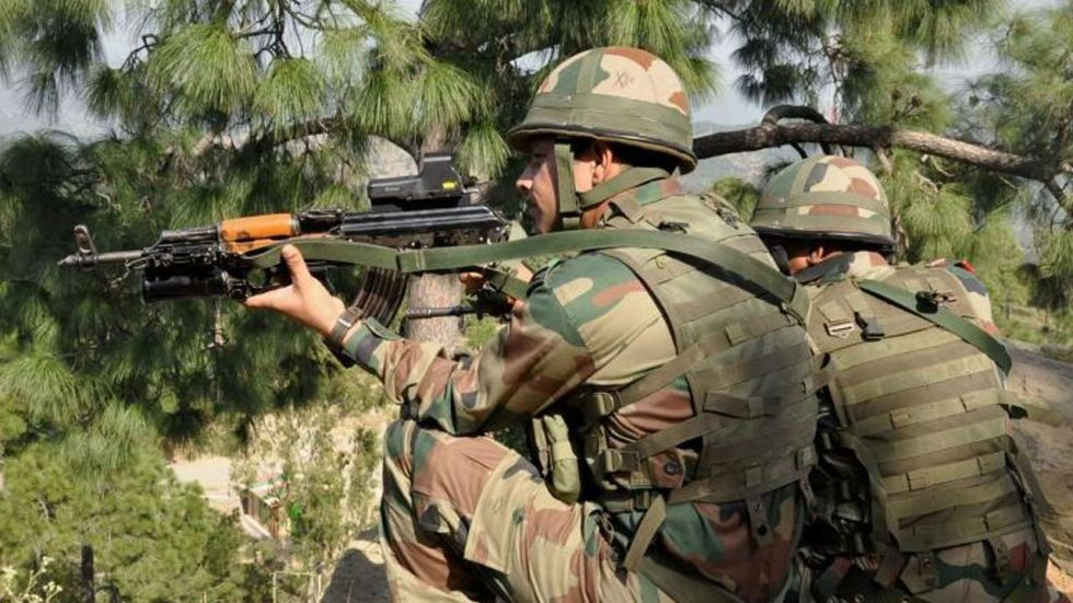 The Indian Army gave a befitting response to the Pakistani aggression