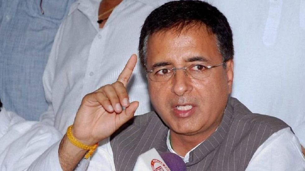 Congress leader Randeep Surjewala on Wednesday slammed Modi government over visit of European Union MPs to Jammu and Kashmir.
