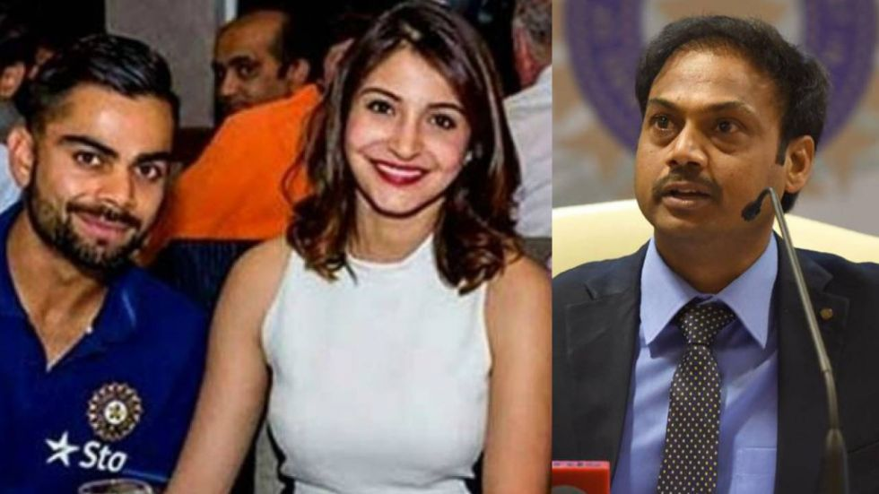 The current selection panel is headed by MSK Prasad