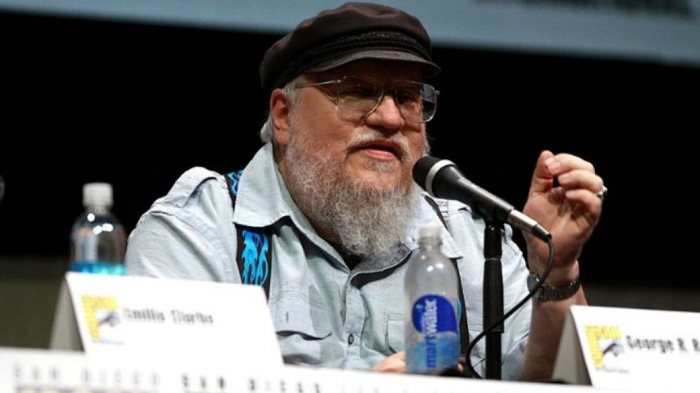 George RR Martin is currently writing Winds of Winter
