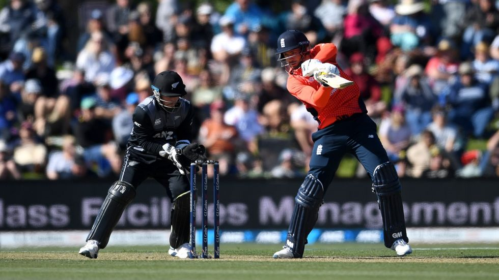 James Vince smashed his maiden fifty as England defeated New Zealand by seven wickets to go 1-0 up in the five-match Twenty20 International series.