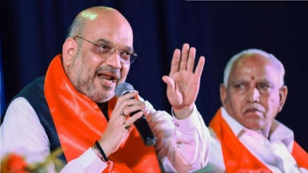 Yediyurappa claimed that it was Amit Shah who supervised the Karnataka revolt by Congress, JD(S) MLAs.