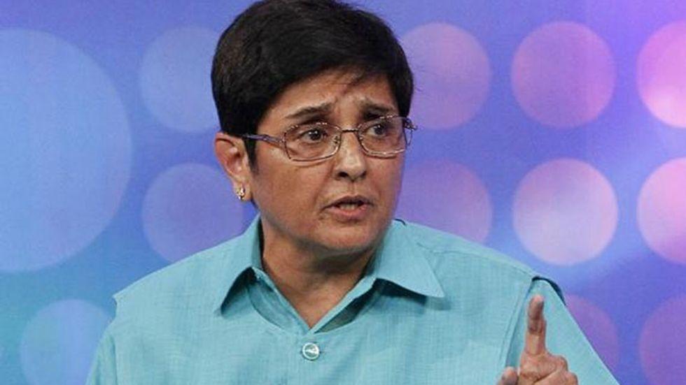 Former Delhi Police Commissioner Kiran Bedi