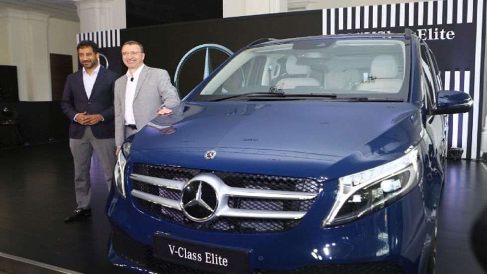 Mercedes-Benz Rolls Out V-Class Elite At Rs 1.10 Crore