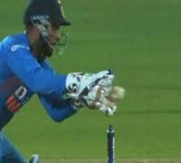 Rishabh Pant Fluffs Stumping In Controversial Fashion In India Vs Bangladesh Rajkot T20I