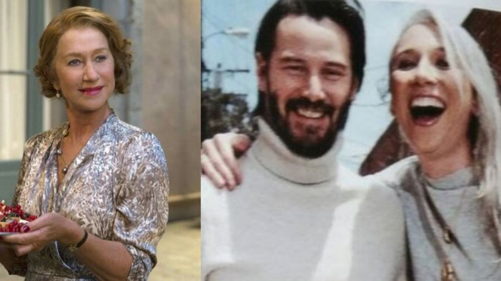 Helen Mirren Reacts To Being Mistaken As Keanu Reeves' Girlfriend