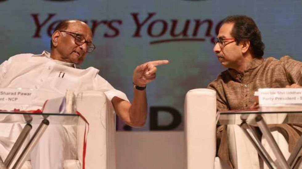 The sources say the Monday talks between the NCP and Shiv Sena broke down over Uddhav Thackeray's reluctance over sharing key portfolio with NCP and the Congress.