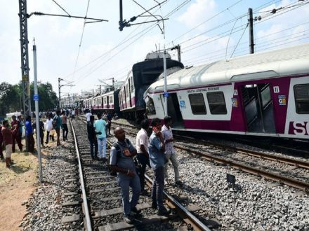 Stunning Video Of Two Trains Colliding In Hyderabad Goes Viral