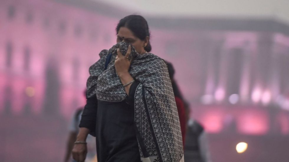 The air quality in Delhi on Thursday slipped into the severe category with the AQI being recorded at 460.