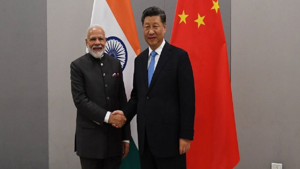 PM Modi and Chinese President Xi Jinping met on the sidelines of BRICS Summit in Brazil.