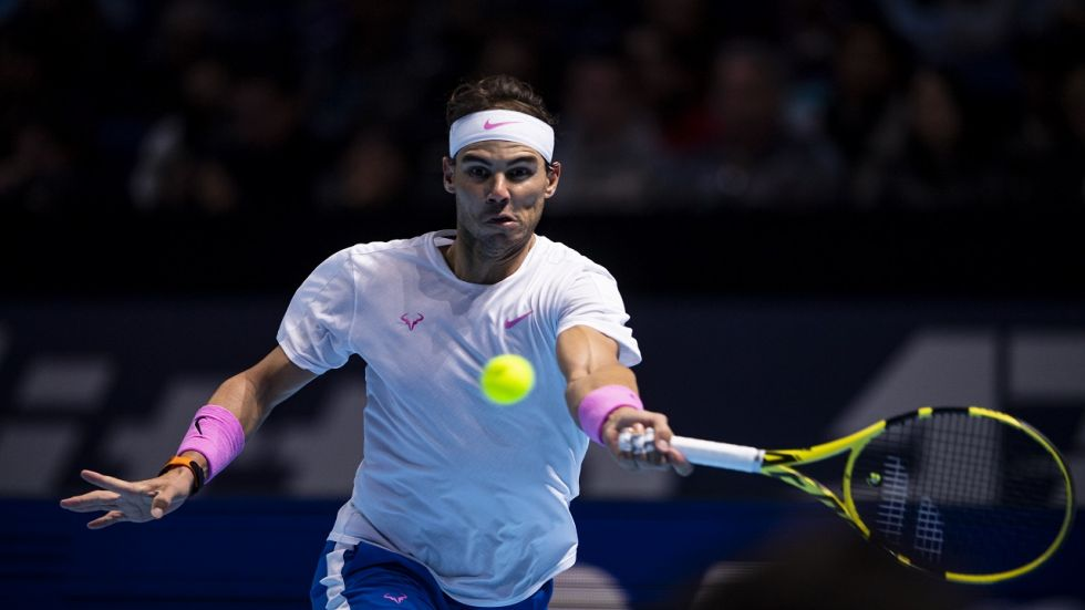 Rafael Nadal came back from a match-point down against Daniil Medvedev but won in grand style in the ATP Finals clash.