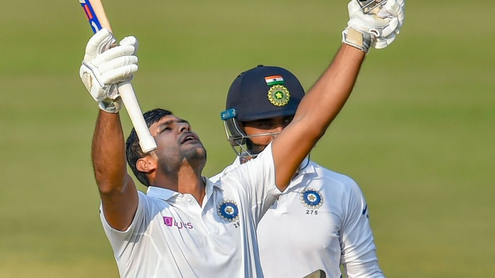 Mayank Agarwal's 243 was the fourth consecutive double ton by an Indian cricket team batsman in the Tests against South Africa and Bangladesh