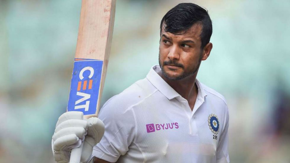 Mayank Agarwal scored his career-best second double hundred on Friday