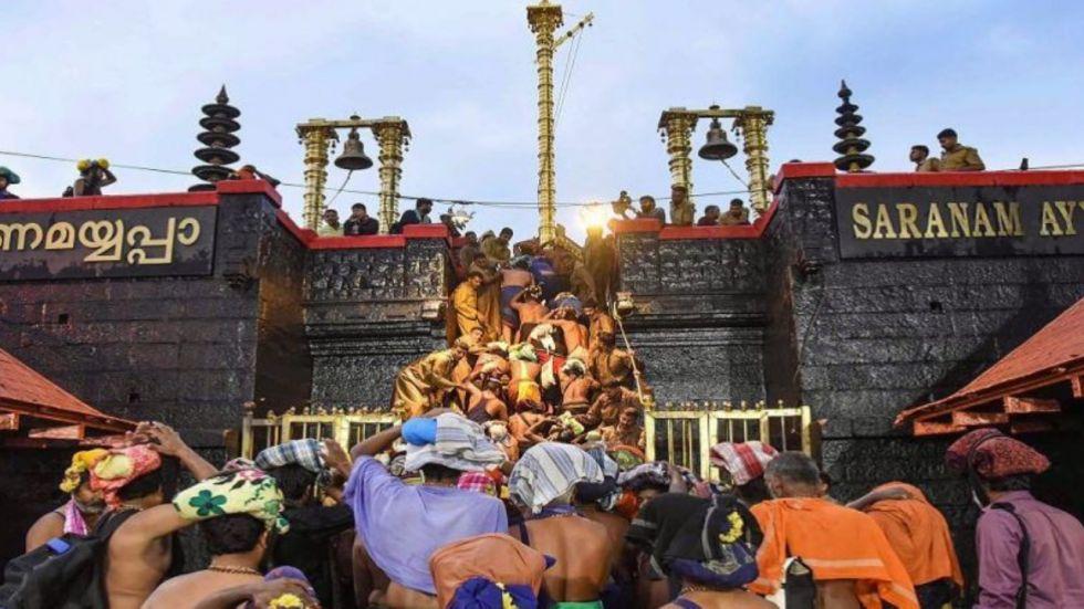 The portals of Sabarimala shrine would be opened for the two-month-long Mandalam Makaravilakku season