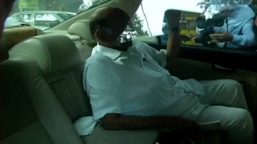 Nationalist Congress Party chief Sharad Pawar.