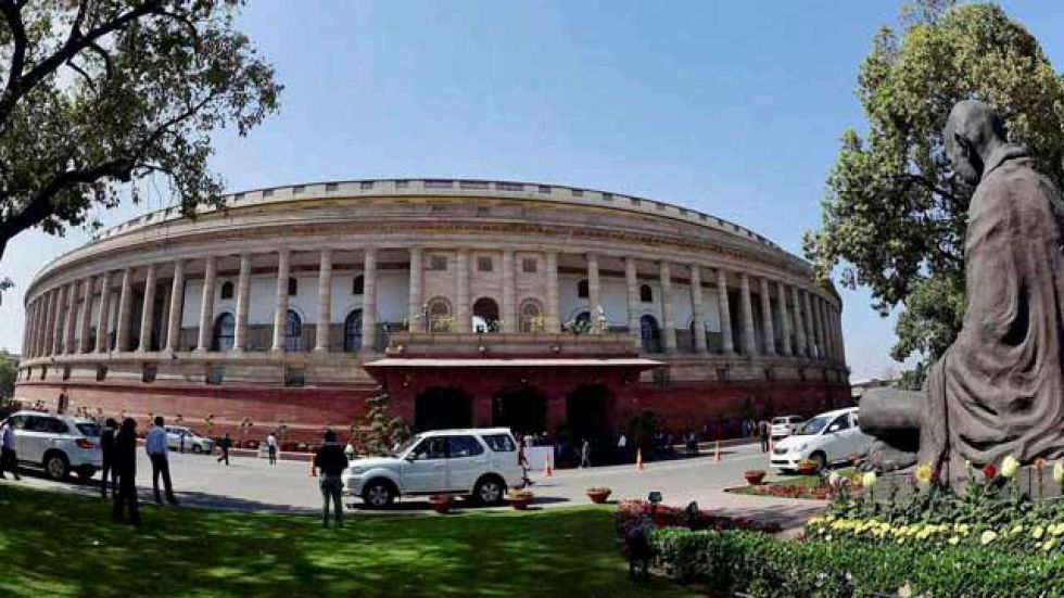 Parliament's winter session started on Monday