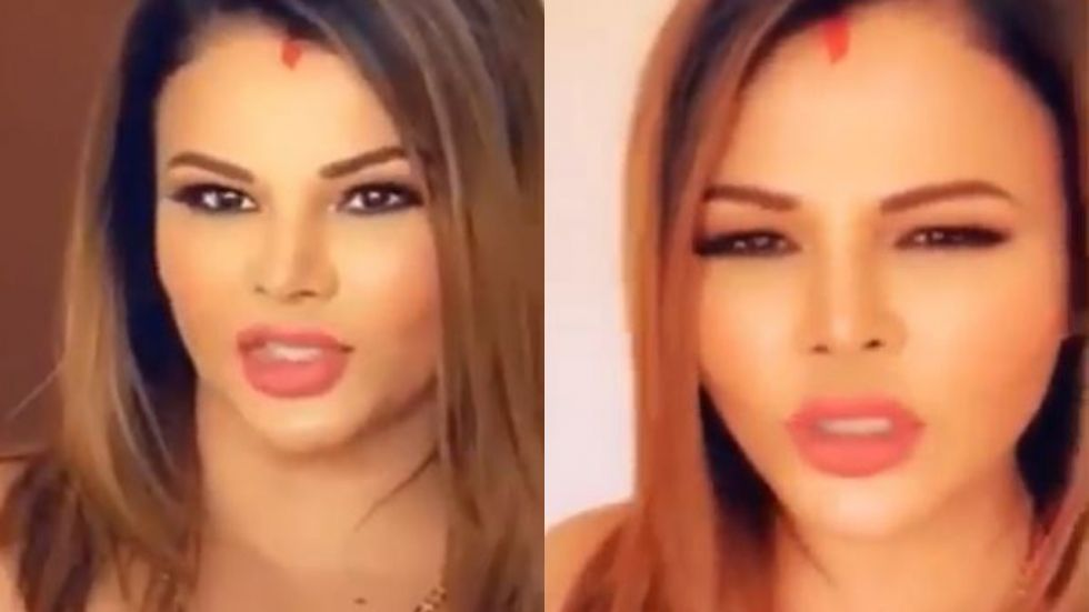 Rakhi Sawant reveals new love of her life in this video.